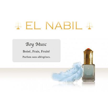 Parfum El Nabil - Boy Musc - (garçon) 5 ml