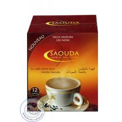 Café crème avec Habba Saouda (Graine de Nigelle) sur Librairie Sana