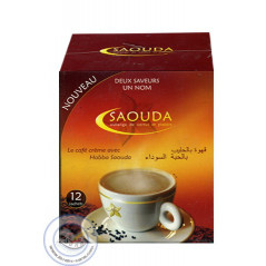 Café crème avec Habba Saouda (Graine de Nigelle)