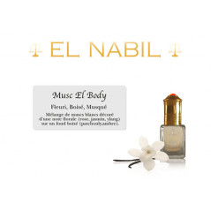 Parfum El Nabil - Musc El Body - 5 ml