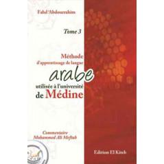 Méthode Médine d'apprentissage de la langue Arabe, tome 3 - Editions EL KITEB, (Arabe-Français)
