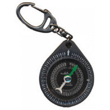 Boussole Qibla porte-clés étanche