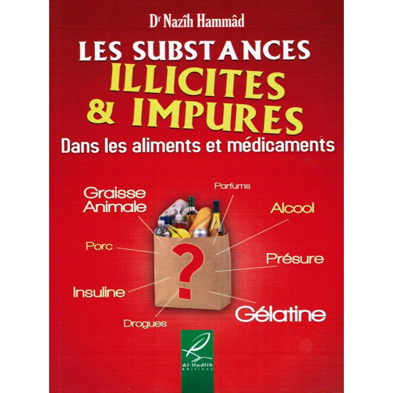 Les substances illicites & impures sur Librairie Sana