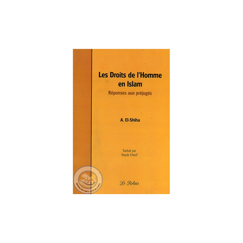 Les Droits de l'Homme en Islam sur Librairie Sana