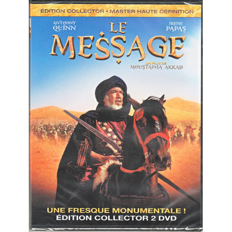 DVD film Le Message-Réalisation par Moustapha AKKAd