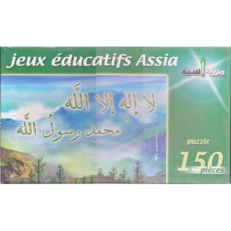 Puzzle Assia 150 Pcs - Paysage et L'attestation de Foi