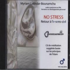 CD No Stress Retour à l'e-sens-ciel (voix masculine) sur Librairie Sana