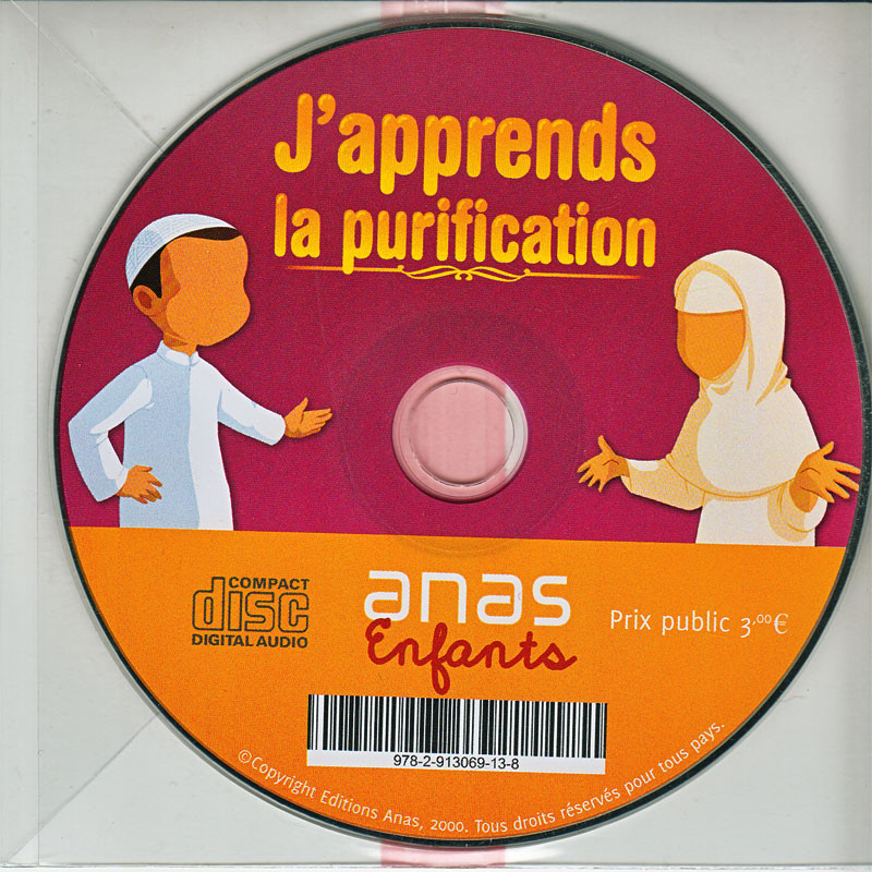 CD AUDIO- J'apprend la purification- Version fille