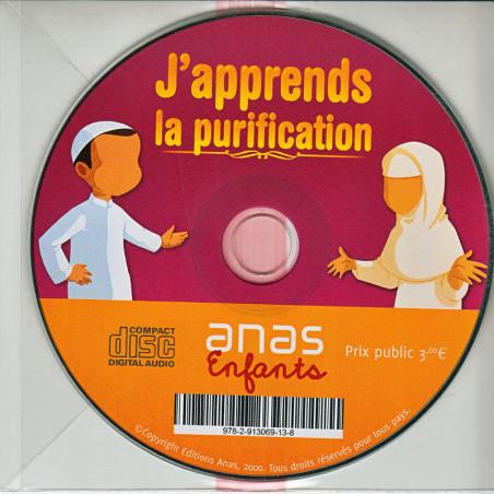 CD AUDIO- J'apprend la purification- Version fille