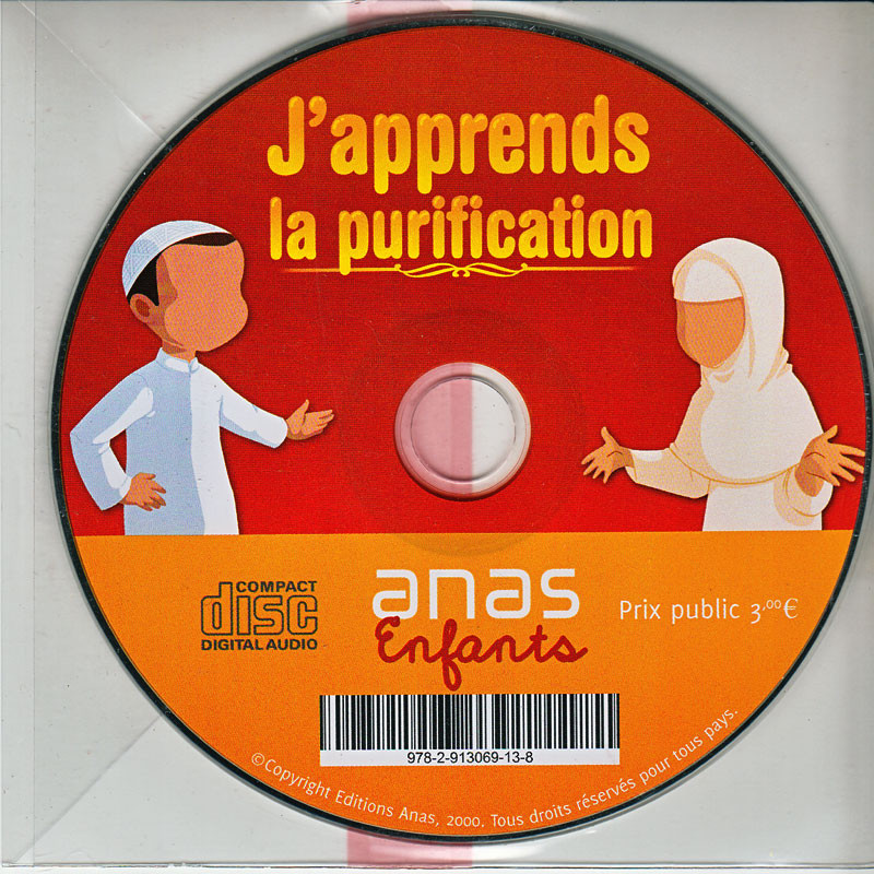 CD AUDIO- J'apprend la purification- Version  garçon