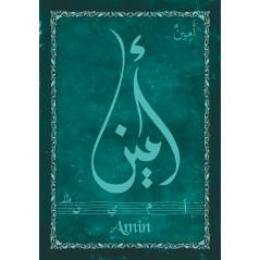 MAGNET -Prénom Arabe Garçon -AMINE