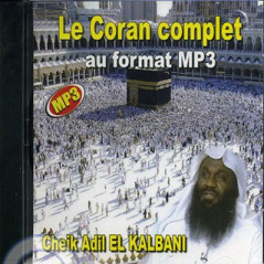 CD Le Coran complet MP3 du Cheikh Kalbani