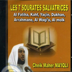 CD Coran Les 7 sourates salvatrices (Ma'iqli)
