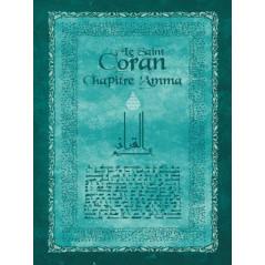 Saint Coran, chapitre 'Amma, (FR/AR), (bleu)