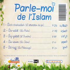 Cd - Parle moi de l'Islam (sans musique)