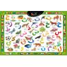 Puzzle alphabet arabe -30 pièces - Format 28 X 23 cm