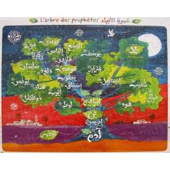 Puzzle: L'arbre des prophètes - 56 pièces - Format 32.5 x 38 cm