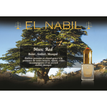 Parfum El Nabil - Musc Red - 5 ml