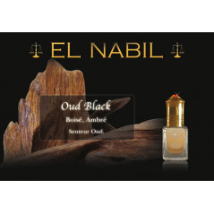 Parfum El Nabil - Oud black - 5 ml