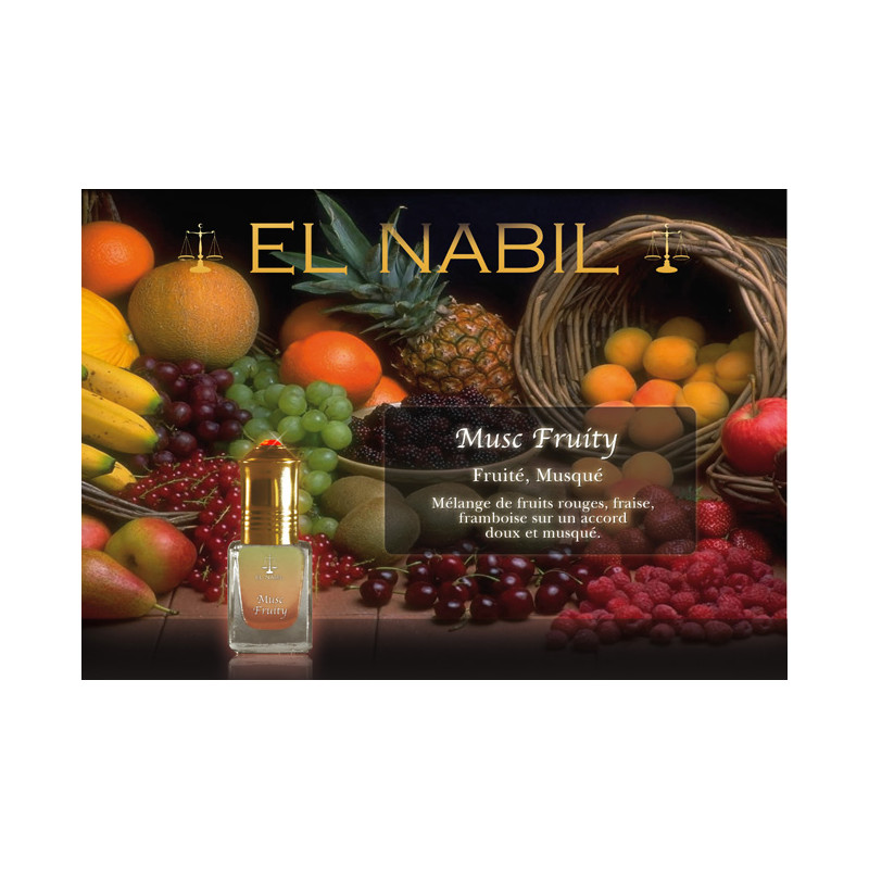 Parfum El Nabil - Musc Fruity  - 5 ml