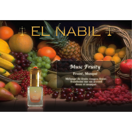 Parfum El Nabil - Musc Fruity  - 5 ml