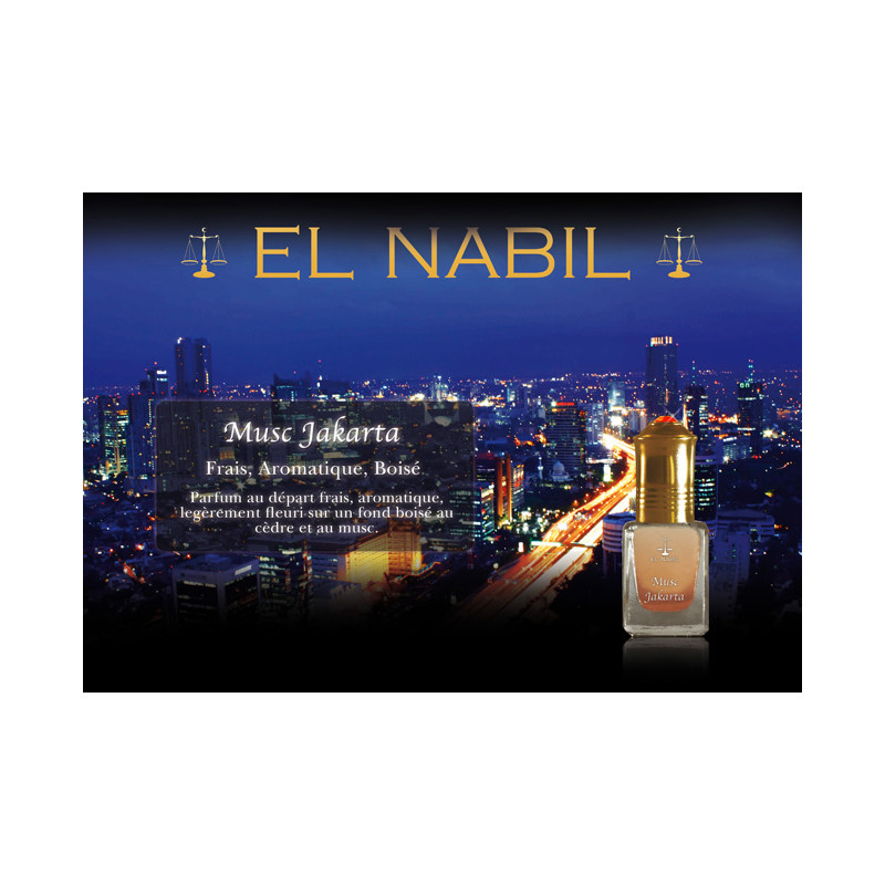 Parfum El Nabil - Musc Jakarta - 5 ml
