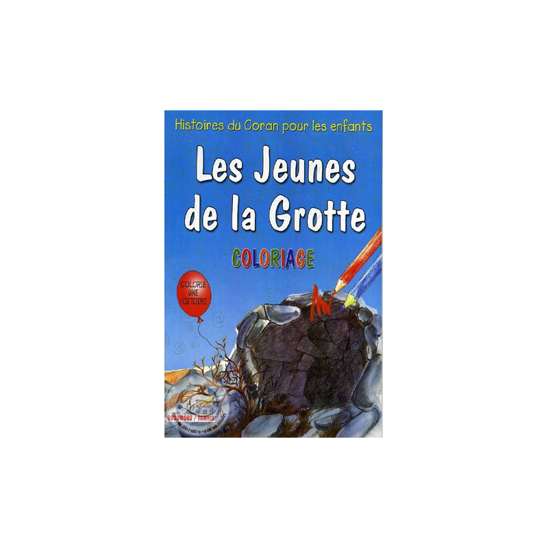 Les jeunes de la Grotte (coloriage) sur Librairie Sana