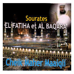 CD Coran Sourates El Fatiha et Al Baqara - Maiqli - 2 CD - CD156