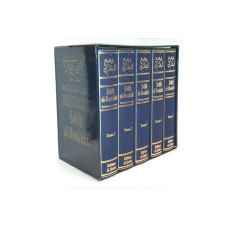 Sahih Al-Boukhari 5 tomes Arabe Français