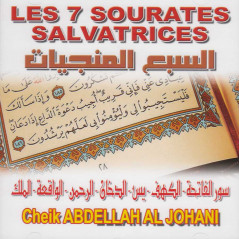 CD - 7 sourates salvatrices - Al Johani - CD93