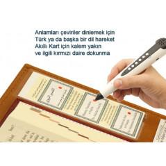 Tajweed Coran en Turc avec Stylo lecteur