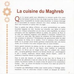 La cuisine du Maghreb – Desserts et boissons  d'après Leila