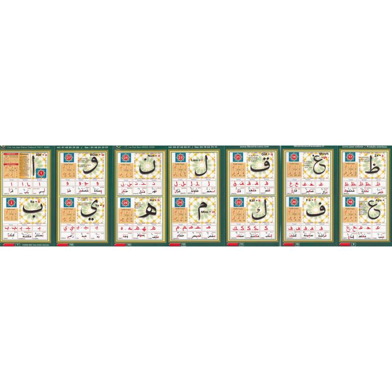 Dépliant alphabet (70 x 18 cm)
