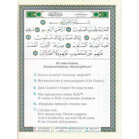 Coran Tajwid Russe - Index des mots du Coran - Hafs Коран Таджвид Русский - Коранский индекс слова - Хафс