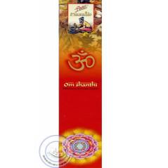 Batônnets d'encens Om Shanthi