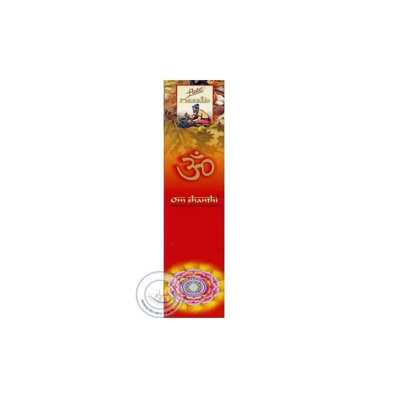 Batônnets d'encens Om Shanthi sur Librairie Sana