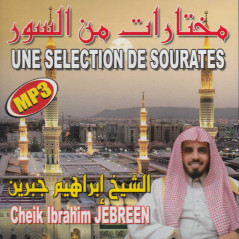 CDMP3 - SÉLECTION DE SOURATES - Jebreen - CD325