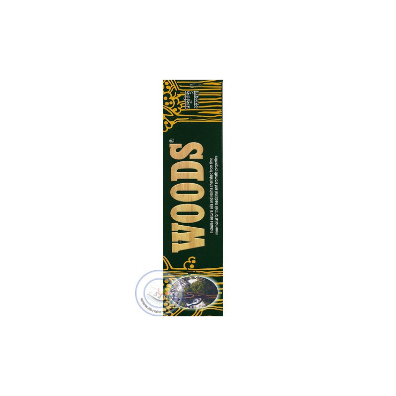 Batônnets d'encens Woods sur Librairie Sana
