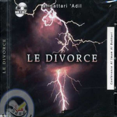 CD - Le divorce (2 CD) - Conférence d'Al Dattari Adil