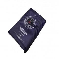 Tapis de prière de poche avec boussole (col.bleu)