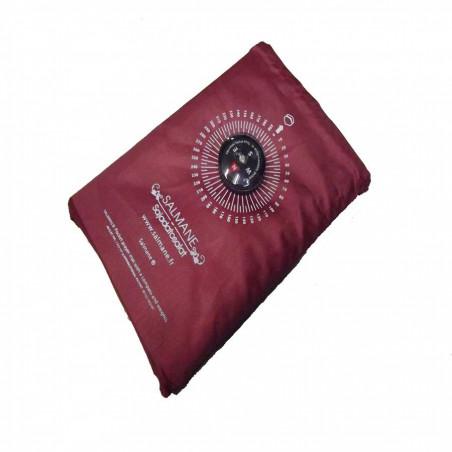 Tapis de prière de poche avec boussole (col.rouge)