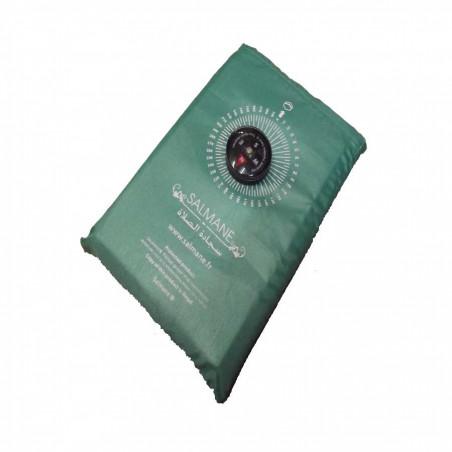 Tapis de prière de poche avec boussole (col. vert)