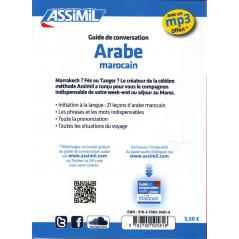 Arabe marocain de poche - Guide de conversation avec mp3 offert gratuitement-ASSIMIL