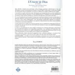 Le livre L'UNICITE DE DIEU - At-Tawhîd- : Des Noms et des Attributs divins (al-asma' wa-s-sifat) de Tarek OUBROU