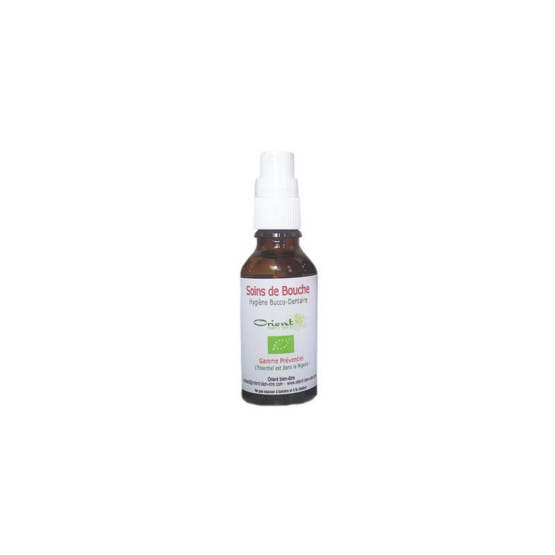 Huile végétale - Soins de bouche - 30 ml