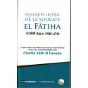 Quelques leçons de la sourate El Fâtiha