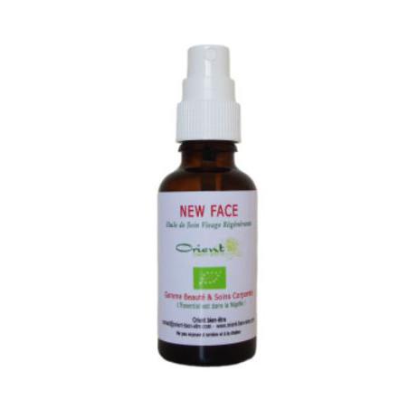 Huile végétale - New Face - 30 ml