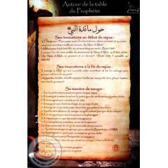 POSTER Autour de la table du Prophète (40X60) sur Librairie Sana