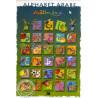 Poster Alphabet Arabe (46X33 cm) plastifié sur Librairie Sana