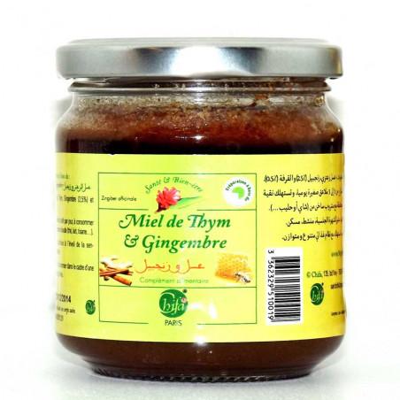 Miel de Thym & Gingembre 250 gr – Complément alimentaire Chifa